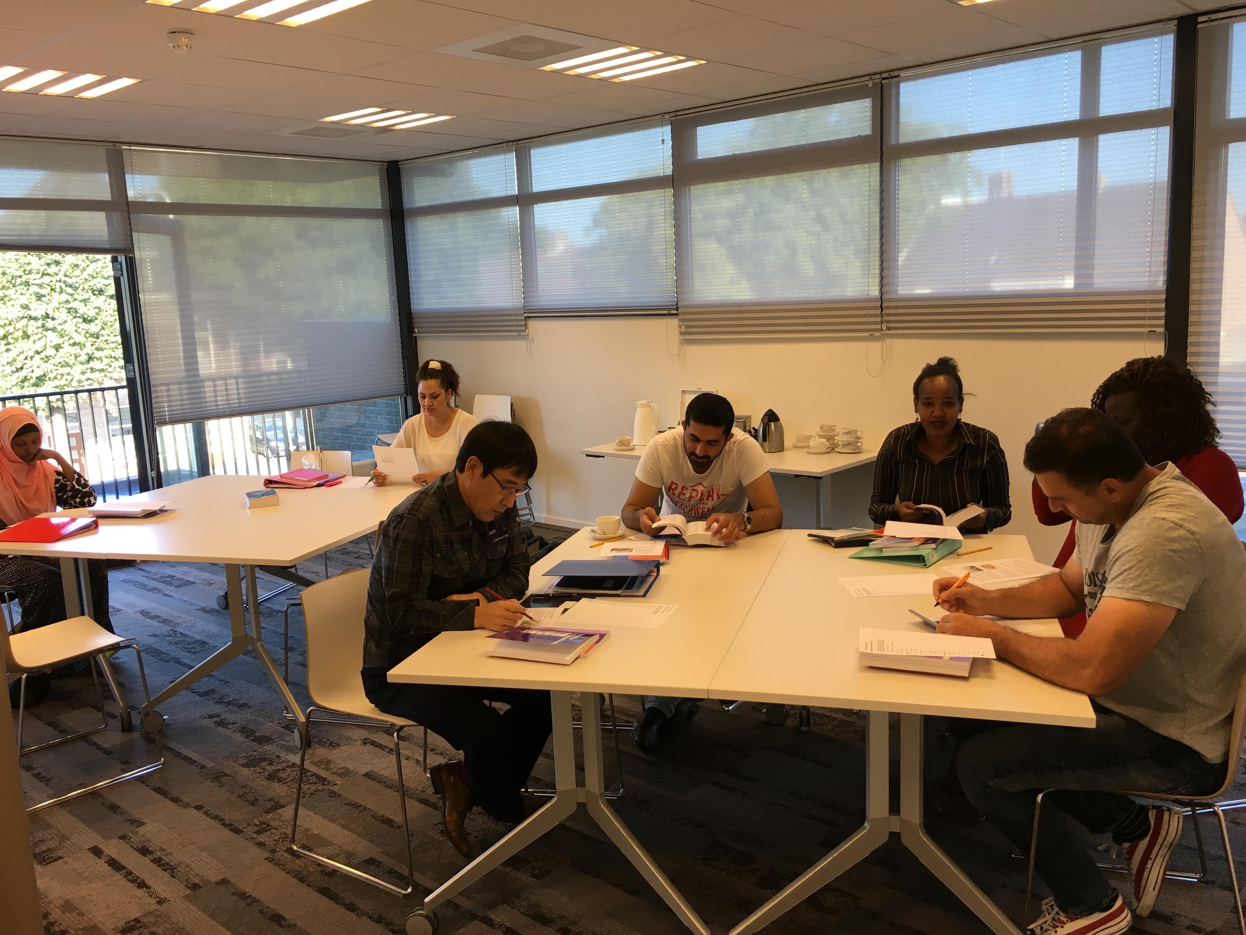 Leslokaal grote groep